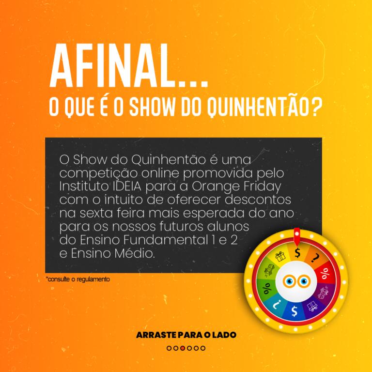 CARROSSEL - SHOW DO QUINHENTÃO 3